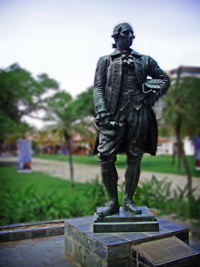 Penang Isle Fort Cornwallis Perspective Of Penang