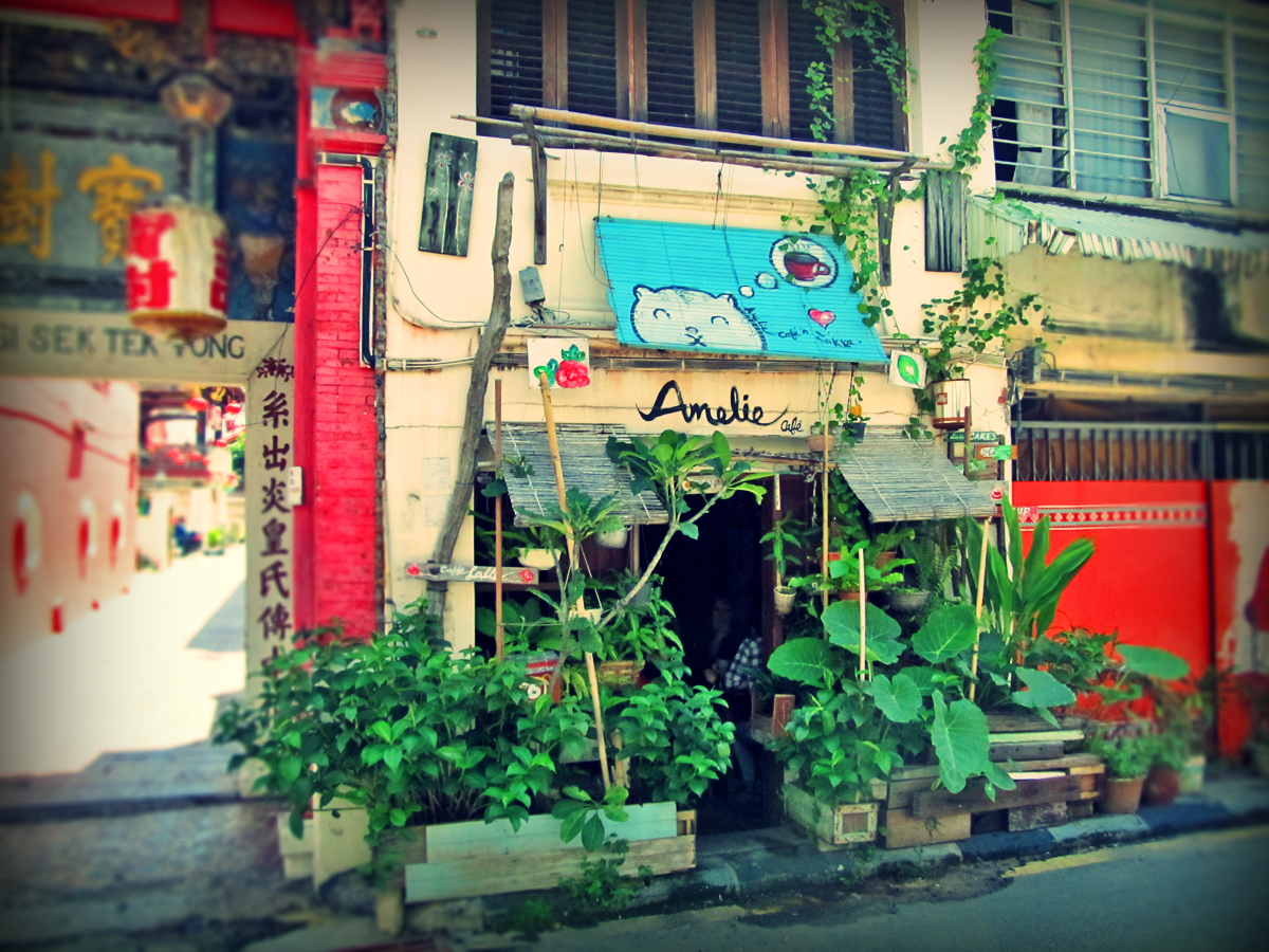 Armenian Street Amelie Cafe Perspective Of Penang