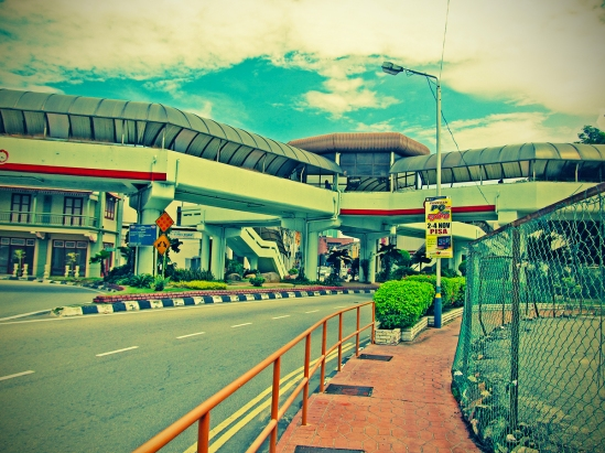 Komtar Pedestrian Crossing