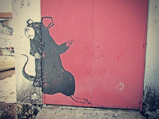 Giant Rat Mural