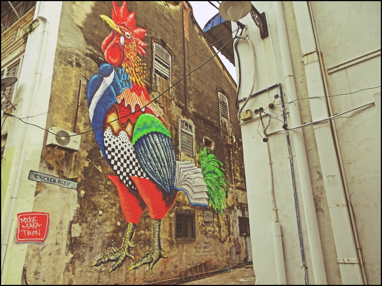 Chicken Alley Mural