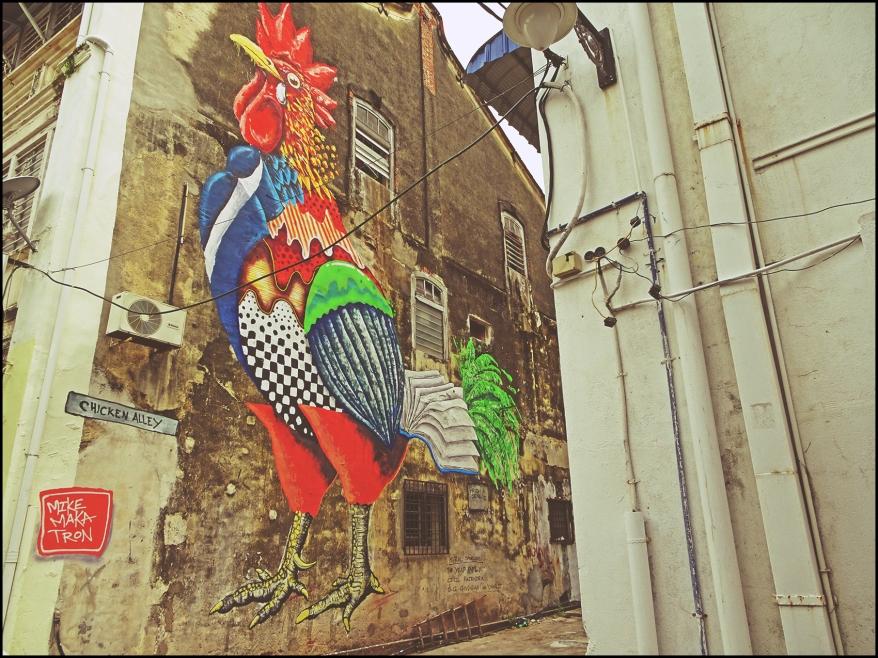 Chicken Alley Mural