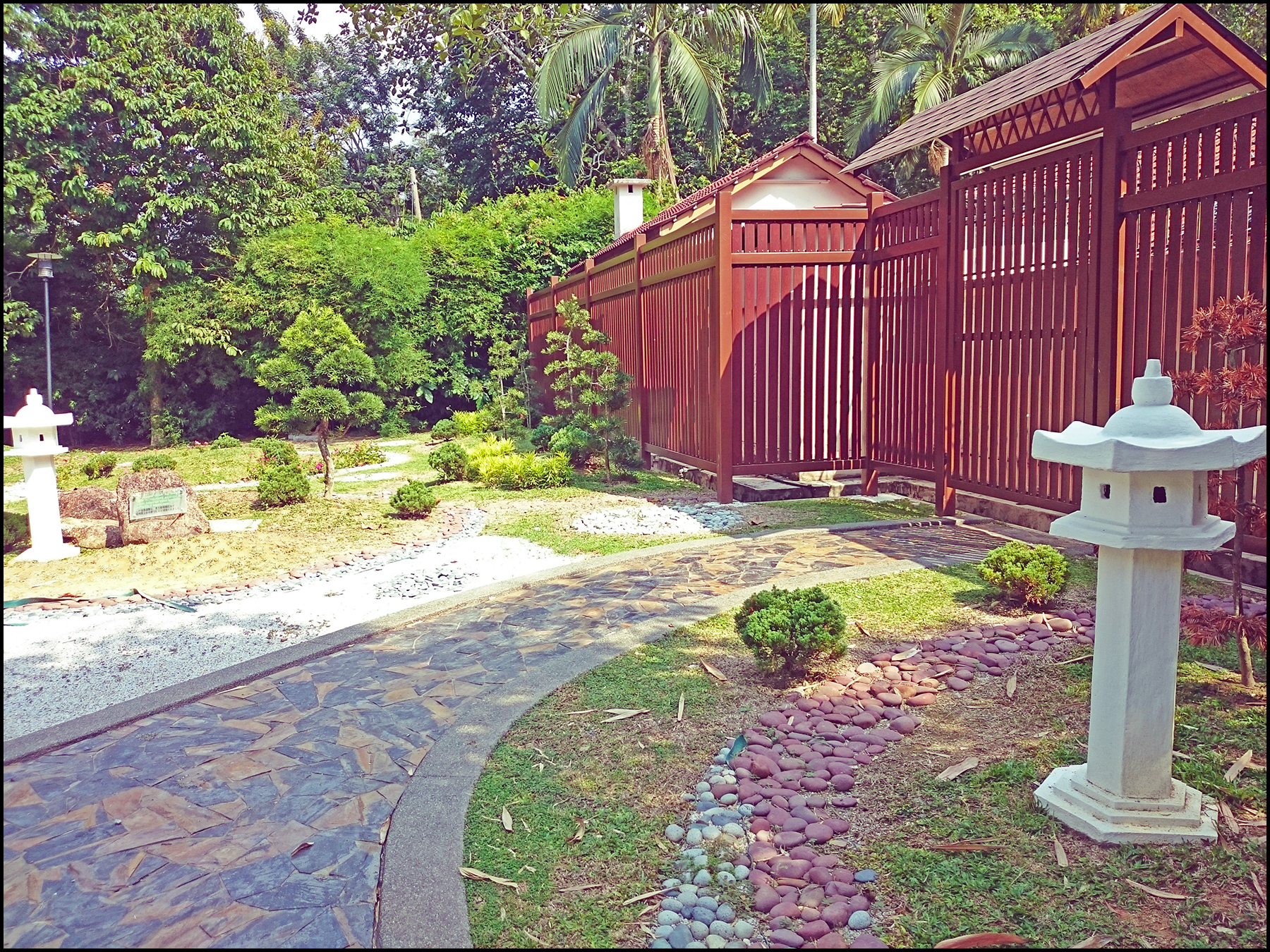 This Miniature Japanese Garden Was Originally Created From An Exchange  Programme Between The Penang Government And The Itabashi City Of Japan In  1994.